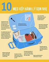 10 Mẹo Xếp Hành Lý Gọn Nhẹ Cho Mọi Chuyến Đi