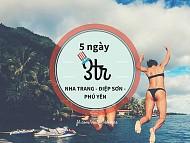 5 Ngày 3 Triệu Khám Phá Cả Nha Trang - Điệp Sơn - Phú Yên