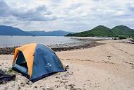 Cắm Trại Ngủ Lều Bên