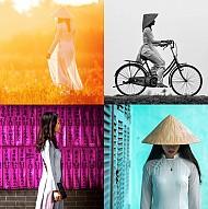 Đẹp Độc Là Tà Áo Dài Việt Qua Cách Khắc Họa Của Nhiếp Ảnh Gia Réhahn