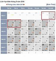 Lịch Nghỉ Lễ Giỗ Tổ Hùng Vương Và Dịp 30/4 - 1/5 Năm Nay