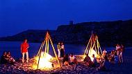 Nha Trang khai trương tour cắm trại đêm tại biển Bãi Dài