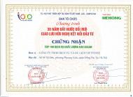 VIETSENSE TRAVEL ĐÓN NHẬN VINH DANH TOP 100 SẢN PHẨM - DỊCH VỤ CHẤT LƯỢNG CAO ASEAN