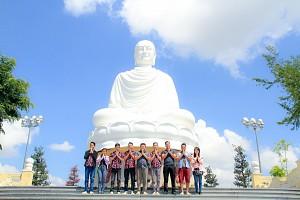 Hình Ảnh Đoàn Tour Nha Trang cùng Công Ty Cổ Phần An Cư Sài Gòn