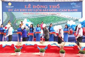 Saigontourist Khởi Công Dự Án Khu Du Lịch Sài Gòn - Cam Ranh