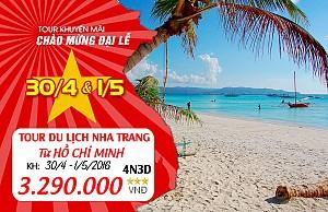 Tour Du Lịch TP HCM - Nha Trang 4 Ngày 3 Đêm