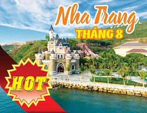 TOUR HỒ CHÍ MINH - NHA TRANG 4 NGÀY 3 ĐÊM THÁNG 8/2018 (BAO VÉ MÁY BAY)
