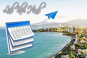 Lịch Khởi Hành Tour Nha Trang và các tuyến biển đảo