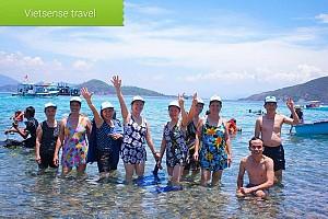 Tour Nha Trang: Sài Gòn - Cam Ranh - Đảo Bình Ba