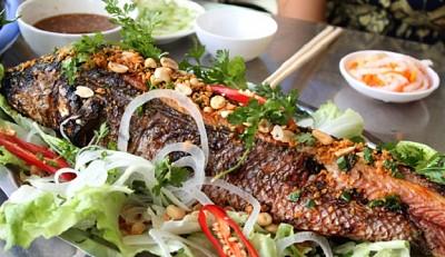 Cá Lóc Nướng Bọt Biển - Đặc Sản Chỉ Có Ở Nha Trang