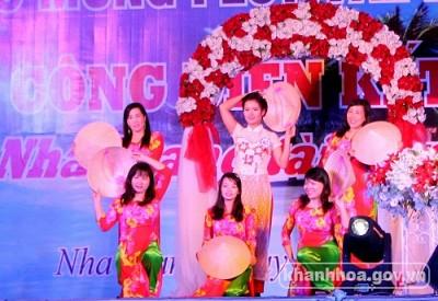 Cuộc thi Phụ nữ Nha Trang tài năng duyên dáng