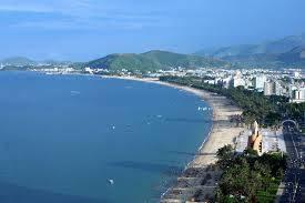 Đẹp ngất ngây biển trời Nha Trang