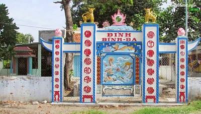 Đình Bình Ba – nơi lịch sử được kể lại