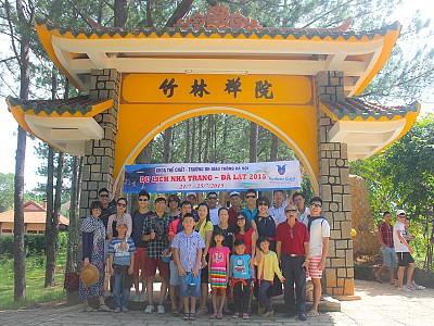 Đoàn Trường Đại Học Giao Thông Vận Tải Du Lịch Nha Trang Đà Lạt Cùng Vietsense
