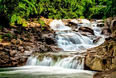 Du lịch sinh thái Yang Bay - Đệ nhất thác tại Nha Trang