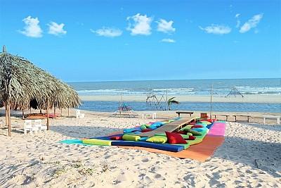 Khu Lều Gỗ Siêu Xinh Ở Sao Biển Beach