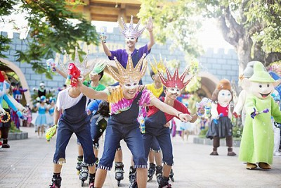 Nha Trang: Tưng Bừng Với Lễ Hội Carnival Của Vinpearl Land