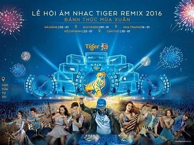 Tiger Remix – Lễ Hội Âm Nhạc Độc Đáo Và Quy Mô Lớn Sắp Đến Gần