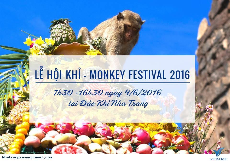 Lễ Hội Khỉ - Monkey Festival 2016 Trên Đảo Khỉ Nha Trang
