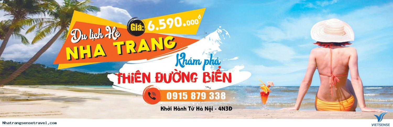 Tour Du Lịch Nha Trang - Vịnh Nha Phu 4N3Đ Từ Hà Nội - Hồ Chí Minh