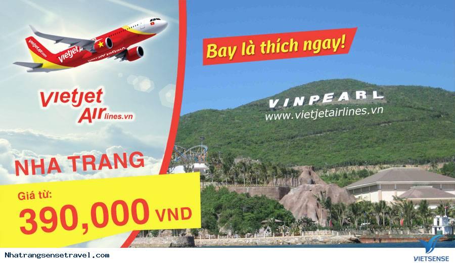 Vé Máy Bay Vietjet Air Đi Nha Trang Giá Rẻ Hàng Tuần
